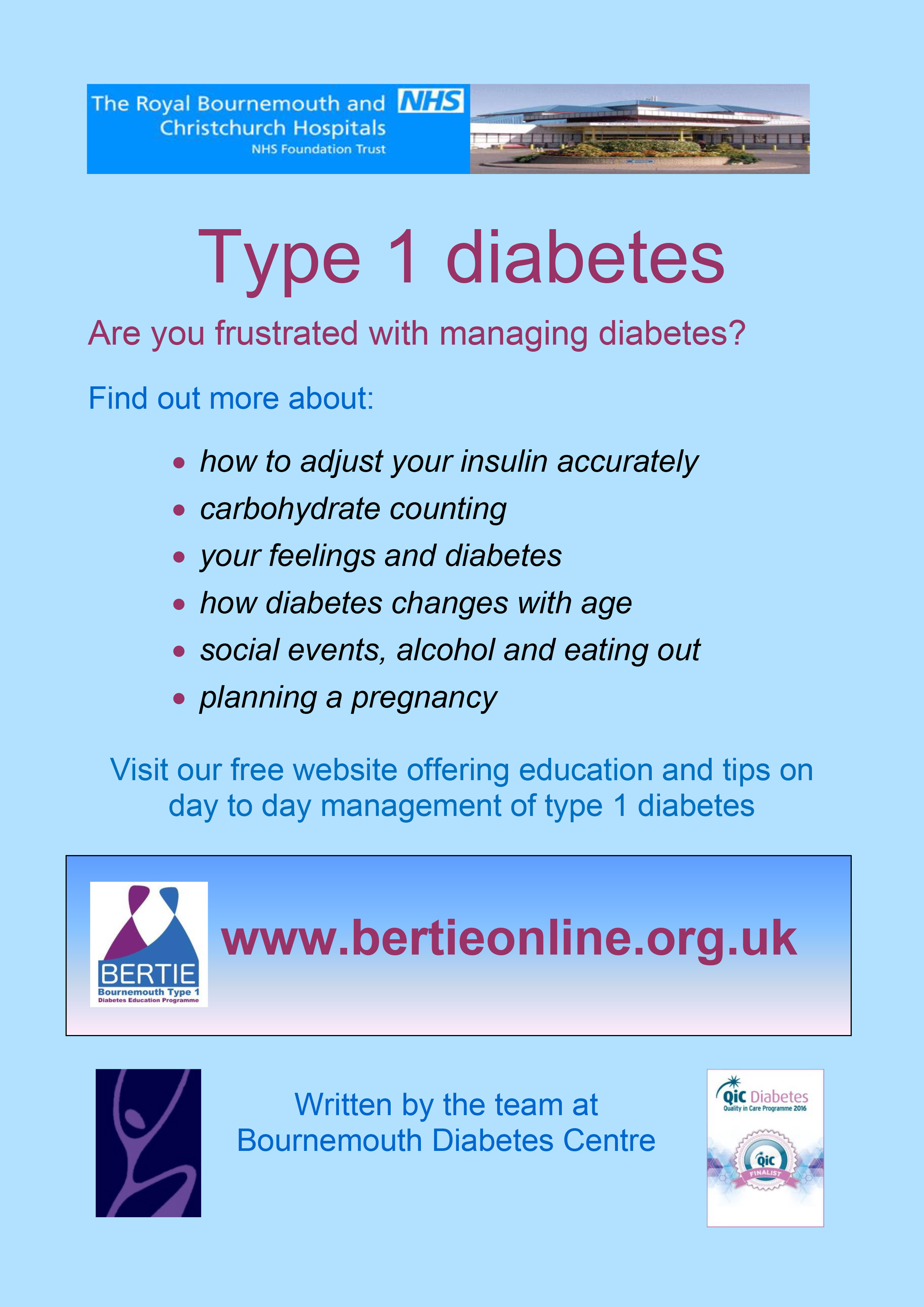 Watch Managing Type 1 Diabetes at School video
